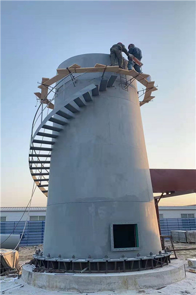 河源市套筒自立式钢烟囱公司用心服务