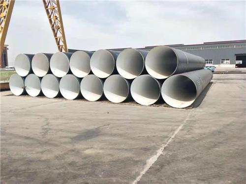 景泰3pe防腐螺旋焊接钢管做法