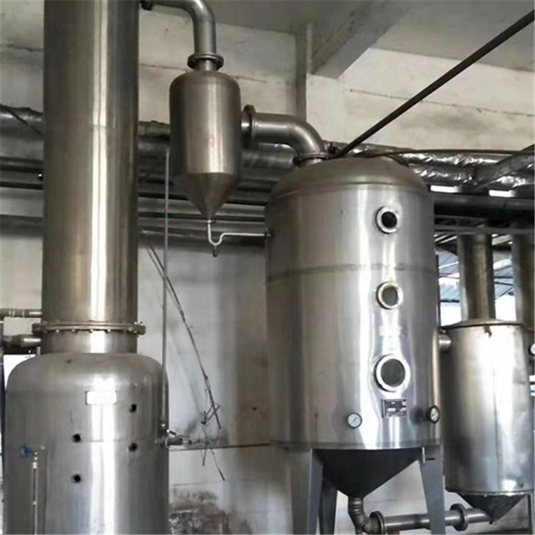 宿松二手双效蒸发器工艺流程图及说明批发