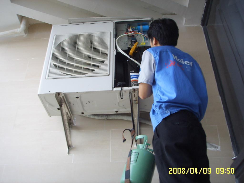 宁河丰台空调安装-打孔-加氟--热线