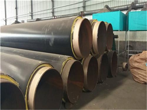 日照市聚氨酯塑套钢无缝发泡保温钢管价格行情报价