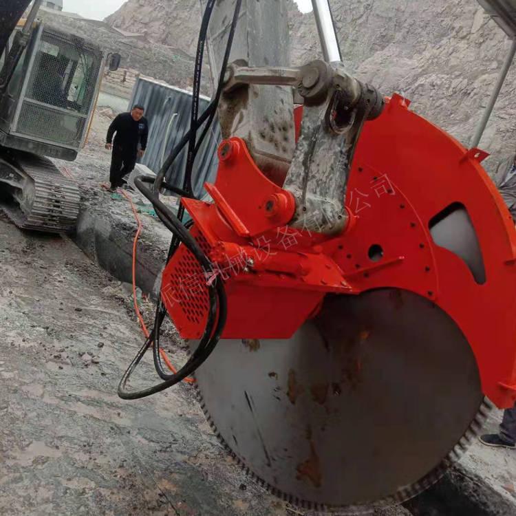 广东茂名挖掘机开山锯石机效果怎么样