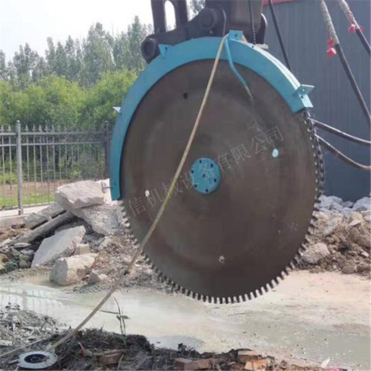 内蒙古呼和浩特挖掘机改装液压圆盘锯注意事项