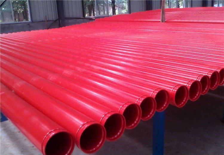 内外涂环氧涂塑钢管给排水涂塑复合钢管中牟