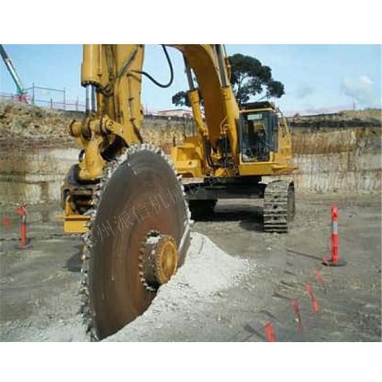 黑河挖机圆盘锯厂家施工方案