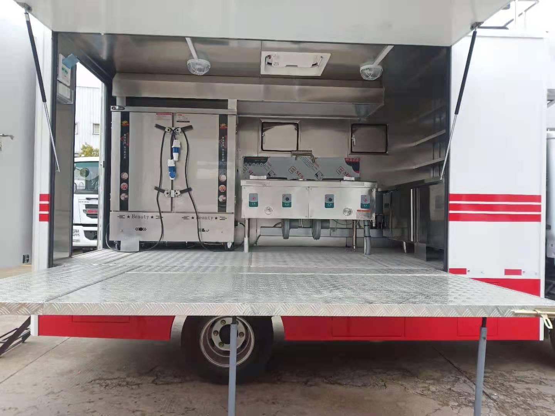 湖北宜昌中型流动厨房车全国送车上门服务