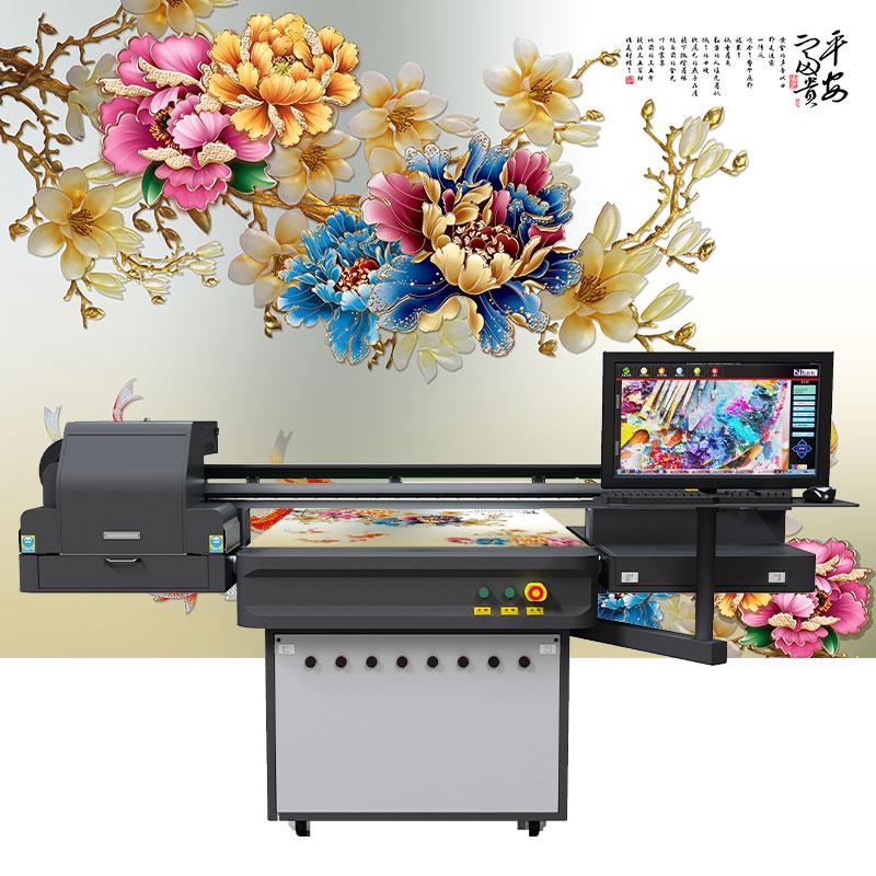 大理石背景墙板uv打印机设备工厂哪家好