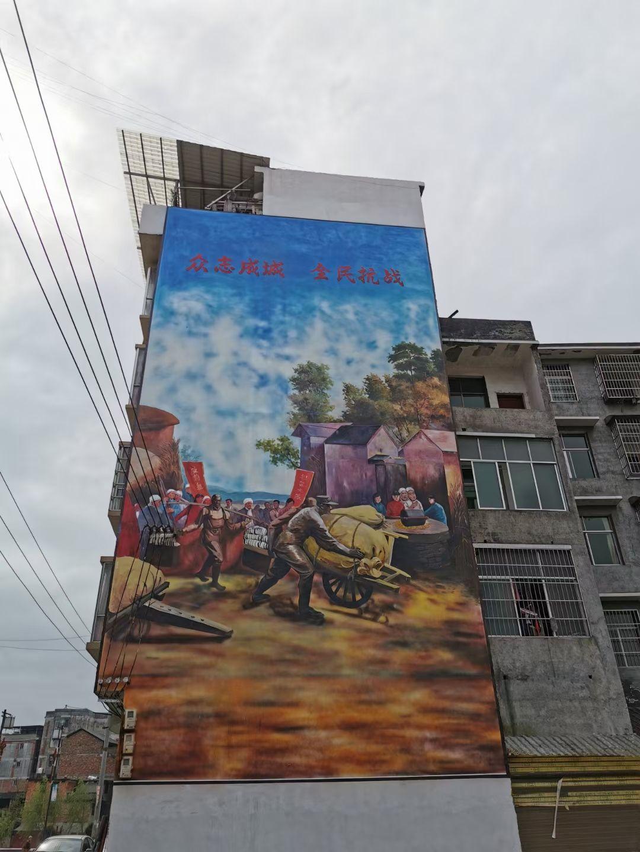 榆林学校文化墙彩绘校园文化墙报价