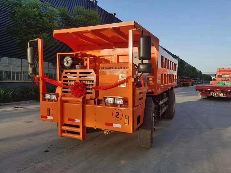 三沙市山东泰安*矿用型4吨湿式制动运输车价格