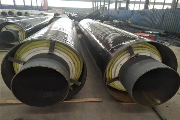 鹤岗市-地埋式预制蒸汽保温钢管运到价格(友浩管道)