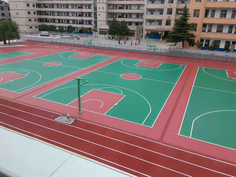 永州混合型塑胶跑道施工建造厂哪里有-【一线体育】