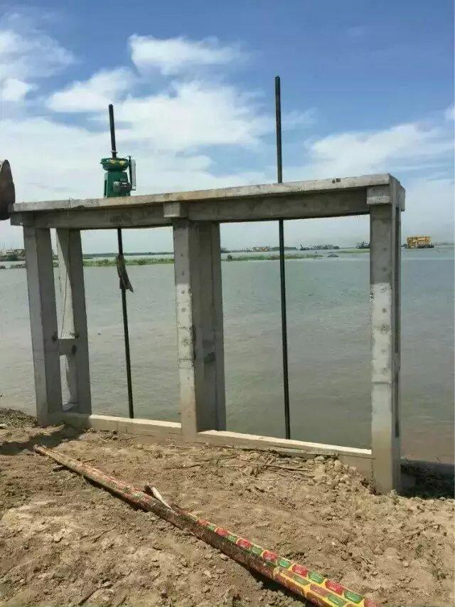 成都龙泉驿''闸门启闭机''-钢闸门埋件