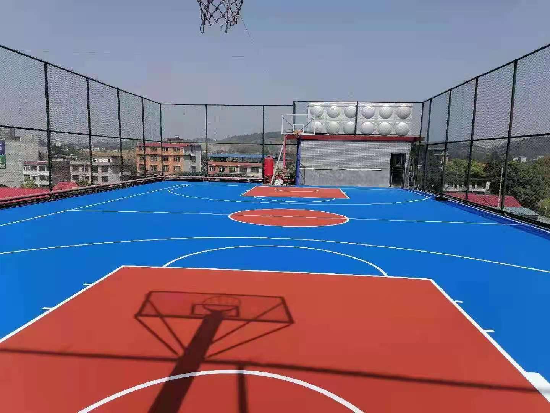 株洲篮球场地坪漆施工公司欢迎来电联系