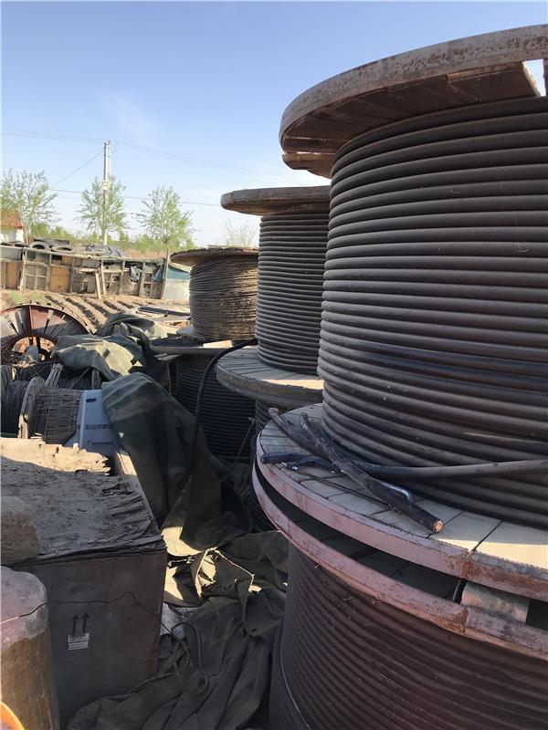 【展华资源】揭阳市惠来县拆除回收报废高低压电缆线多少钱一米