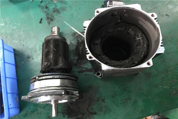 吴兴CNC精雕机伺服电机维修编码器损坏