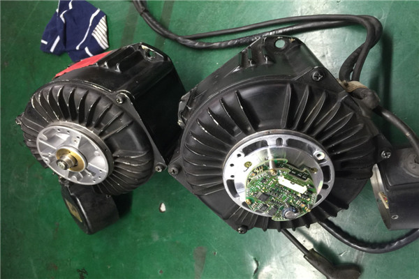 玉环菲仕伺服电机维修端盖磨损