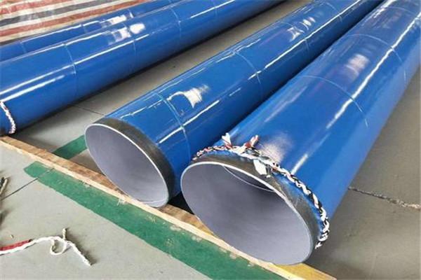 【漯河市】6油4布环氧煤沥青防腐钢管检尺价格
