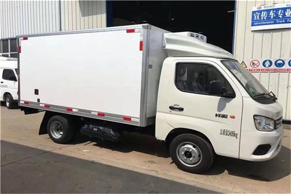 肉钩冷藏车配置/五十铃冷藏车白条肉运输
