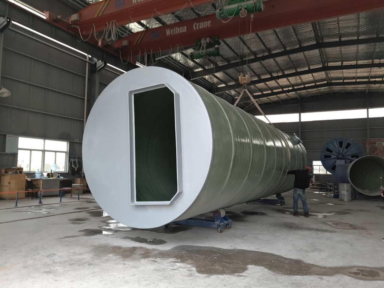 宜春袁州地埋式污水提升泵站