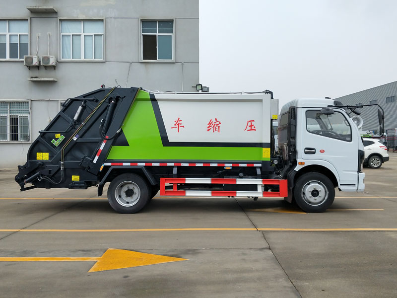 昌县后装式垃圾压缩车多少钱