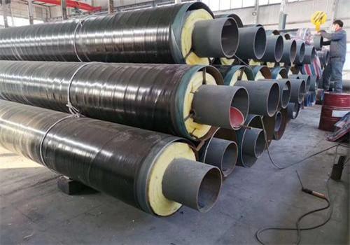 鸡西城子河蒸汽钢套钢预制直埋保温管定制厂家
