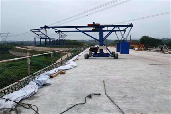 西安防撞墙模板安装作业车厂家供应2021