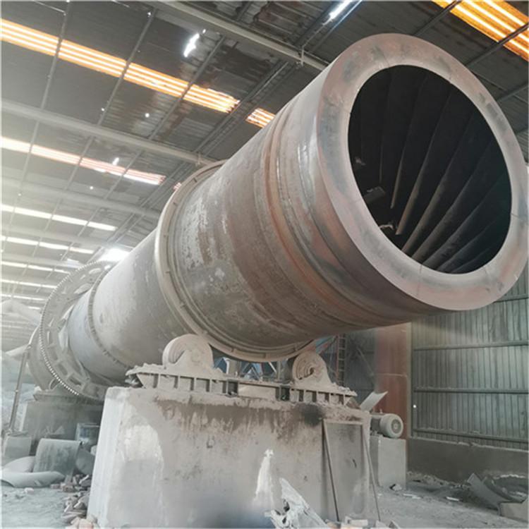 贵池二手煤泥滚筒烘干机型号1.5x18米