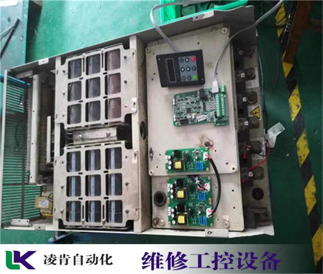 三菱LCD显示屏进入不了系统维修对策