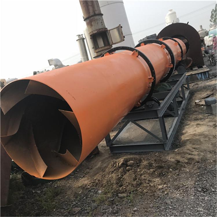 左权滚筒烘干机结构型号1.5x14米