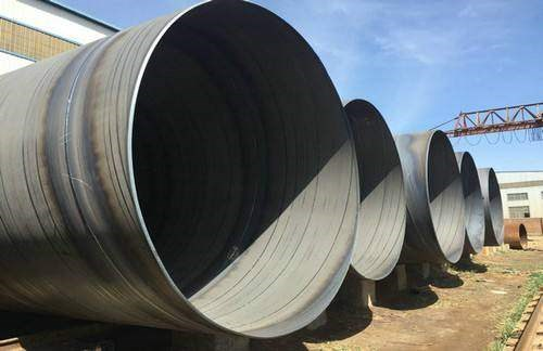 直径325*8螺旋焊管产品检验合格
