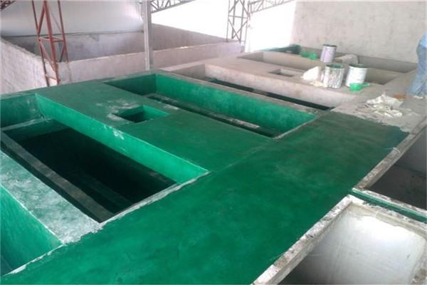 河北省污水池玻璃鳞片胶泥施工价格