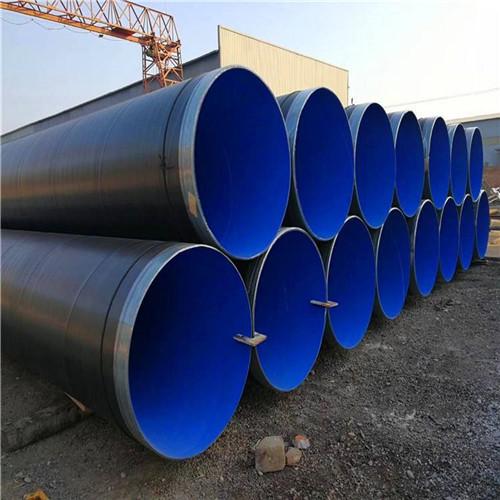 大口径涂塑螺旋钢管用于 脱硫脱硝用管道恭城瑶族自治县