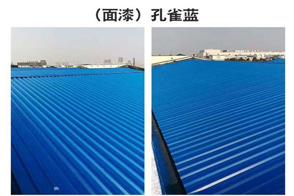 晋城市沁水县环保型水性彩钢漆施工多少钱一米