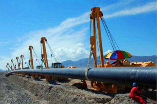 广东省河源市N-HAP热浸塑双面埋弧焊螺旋钢管领头企业