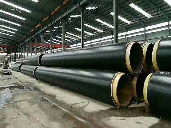 洛阳市孟津县批发聚氨酯保温直缝钢管管道厂家