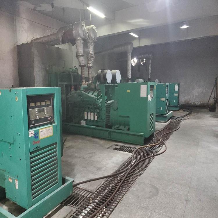 东莞谢岗镇回收二手康明斯发电机价格评估报价