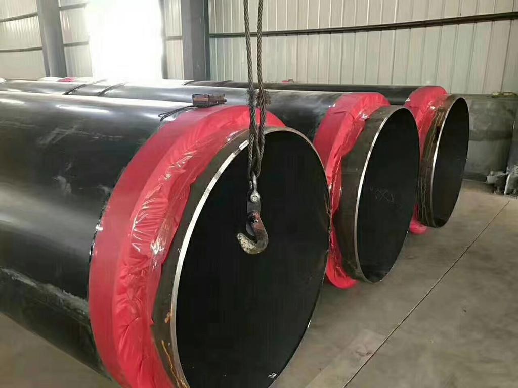 鹤壁市鹤山区预制高温直埋聚氨酯地埋保温螺旋焊管多少钱一米