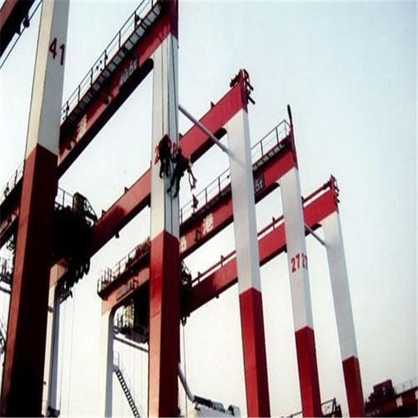 图们龙门吊刷漆钢梁刷油漆公司/龙门吊翻新
