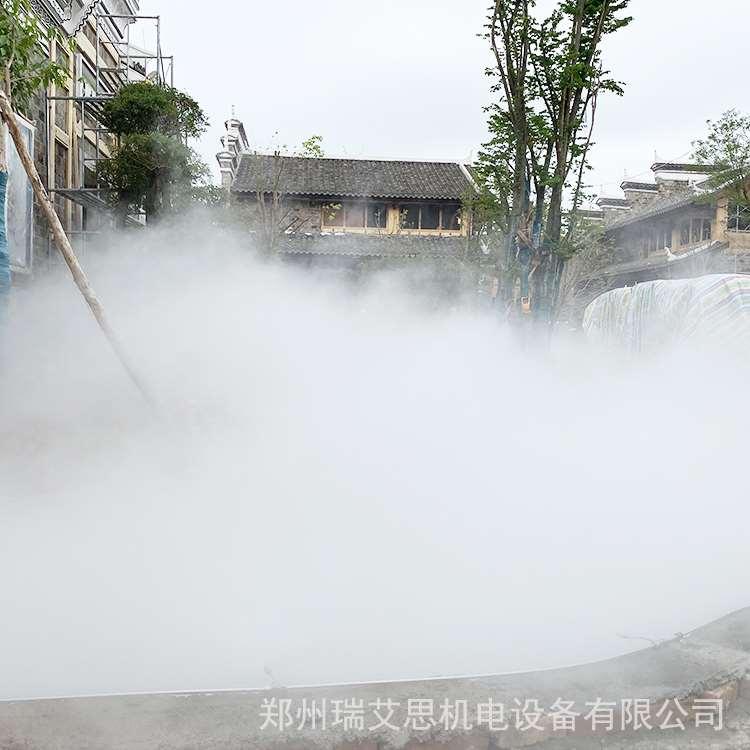 廊坊售楼部人工造雾工程价格多少