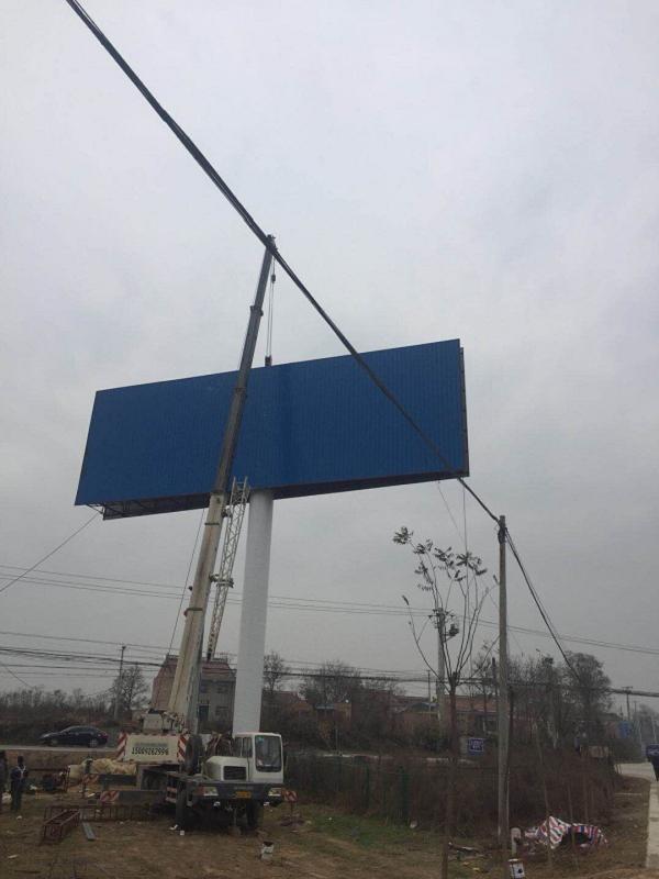 遂宁安居单立柱制作厂家--欢迎来厂访问