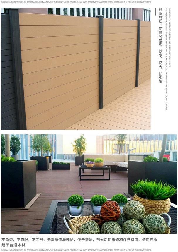 黑龙江省伊春市户外木塑地板规格多少钱一米?