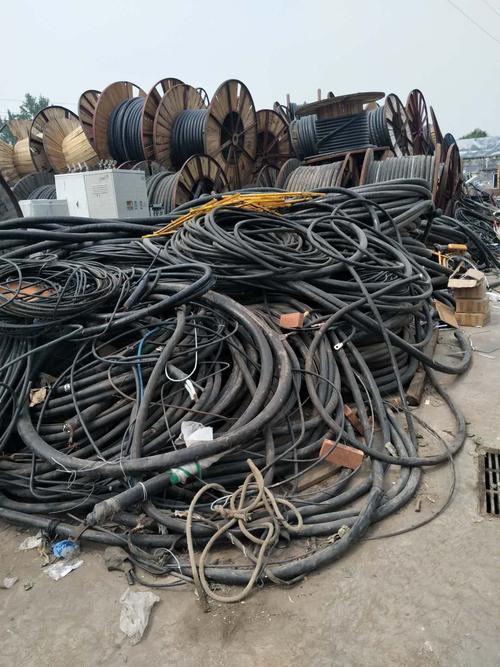 青岛市电线电缆回收-青岛市出售工厂二手电线电缆等物资