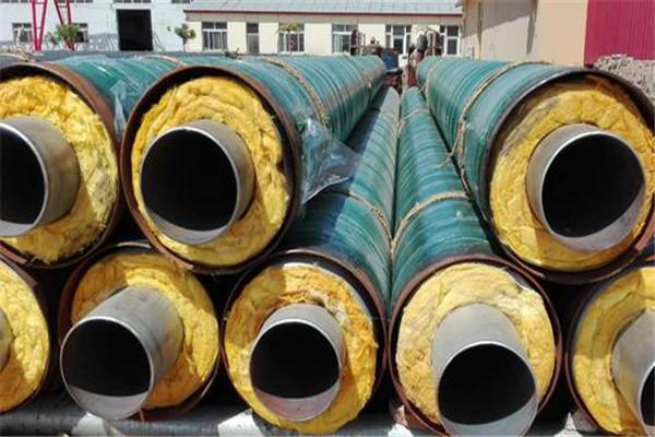 预制地埋式蒸汽保温管出厂价格-友浩管道