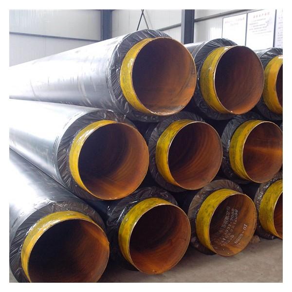 金沙高温预制钢套钢保温管厂家专业打造工程利器