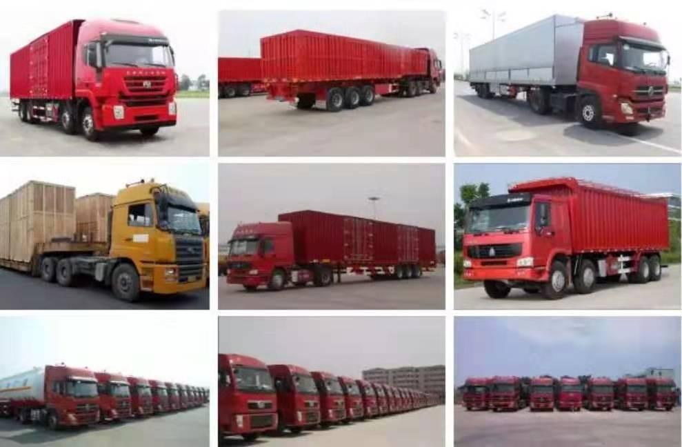 找车吧清远清新到蚌埠怀远7米6厢式带尾板货车出租 长短途运输