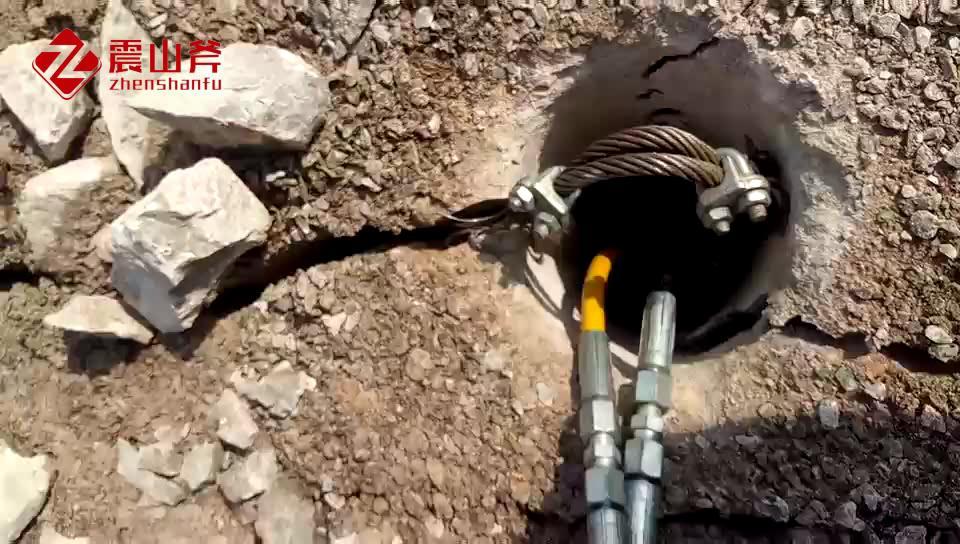 布拖代替放炮开采设备破石液压棒尺寸参数
