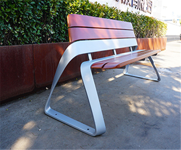 防腐木围树座椅健身不可缺