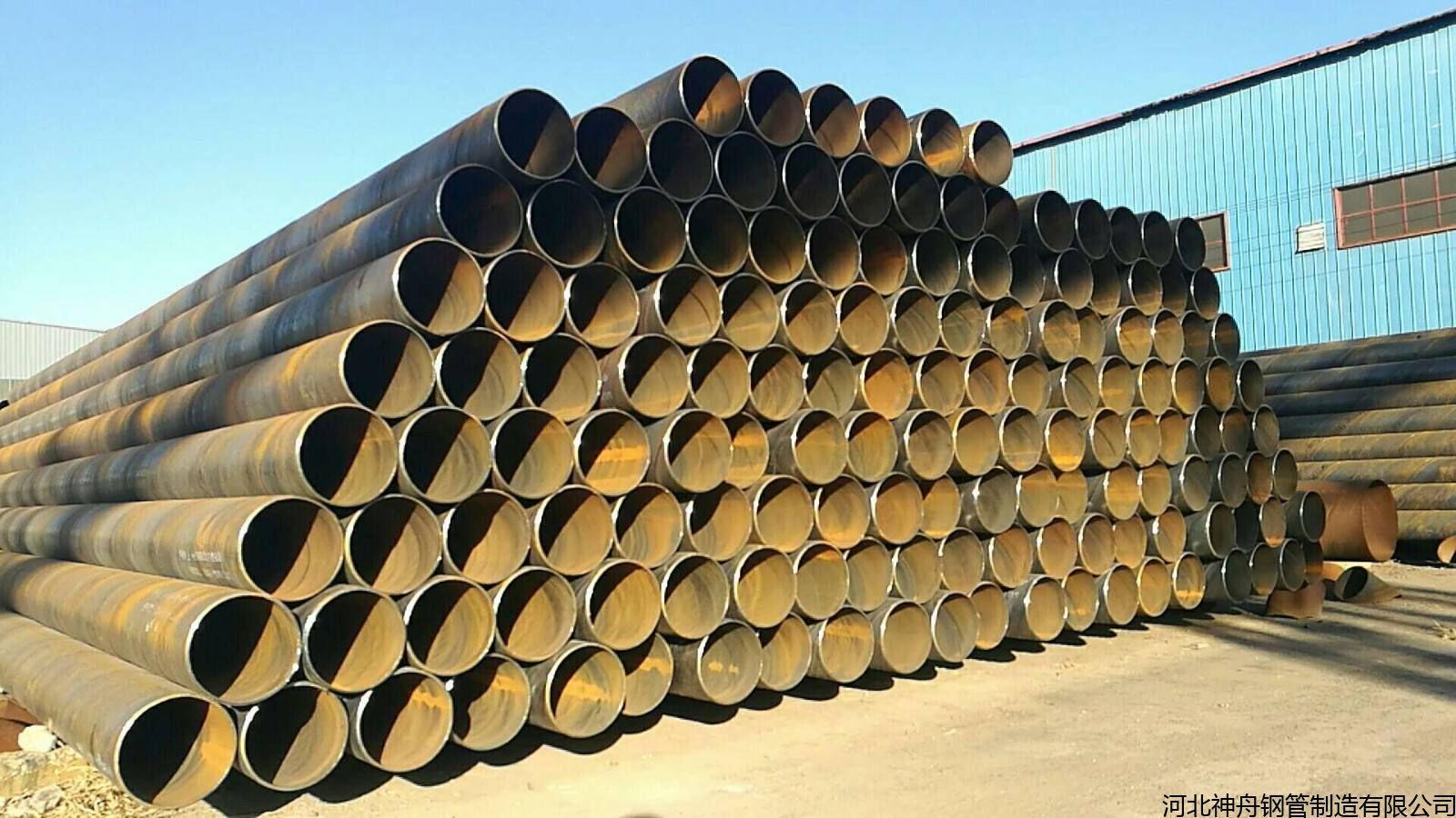 大口径双面埋弧焊螺旋焊接钢管多少钱