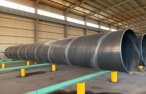 法兰连接涂塑螺旋焊管质量保证