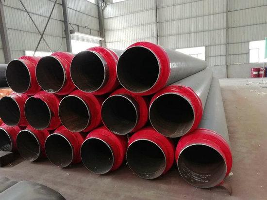 驻马店正阳塑套钢直埋保温管居民供暖用300聚氨酯发泡技术成熟